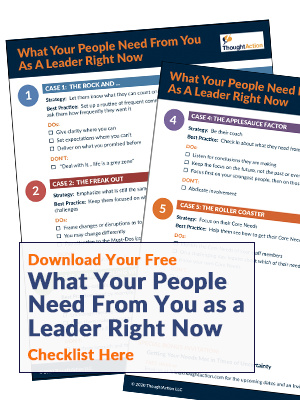 What Your People Need from You as a Leader Right Now Checklist